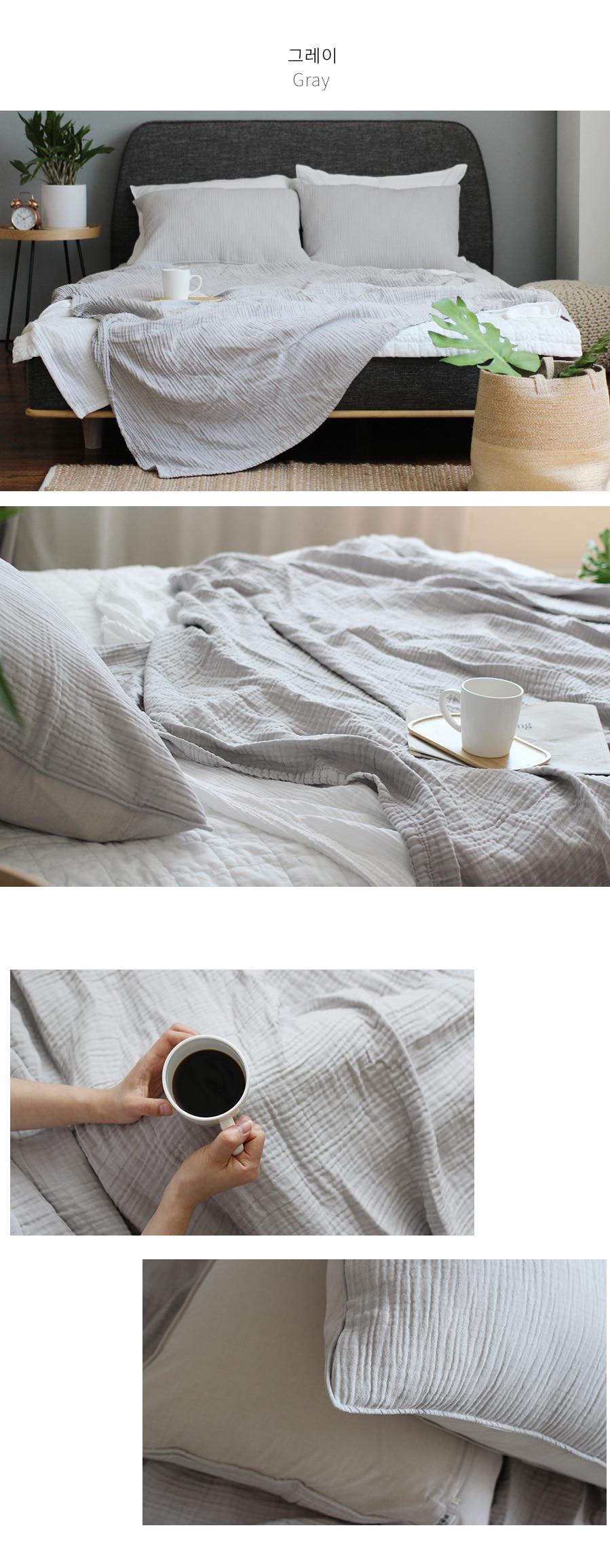 아이린모달거즈이불[블랭킷]-그레이 - 아카시아, 26,900원, 침구 단품, 홑이불